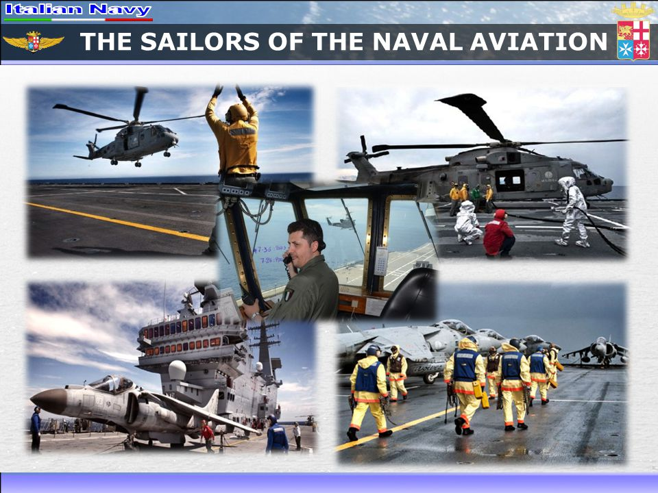 THE SAILORS OF THE NAVAL AVIATION