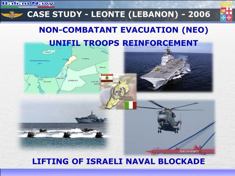 CASE STUDY - LEONTE (LEBANON) - 2006