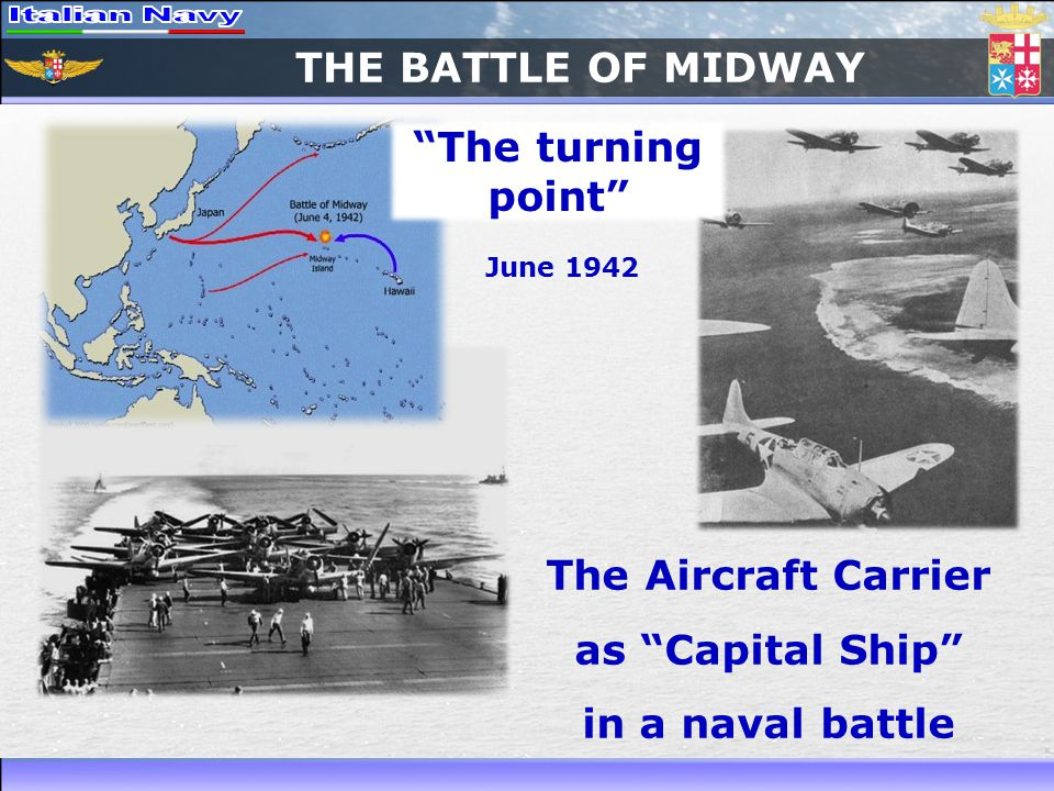 The Aircraft Carrier as Capital Ship in a naval battle