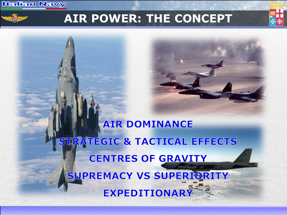 STRATEGIC & TACTICAL EFFECTS SUPREMACY VS SUPERIORITY