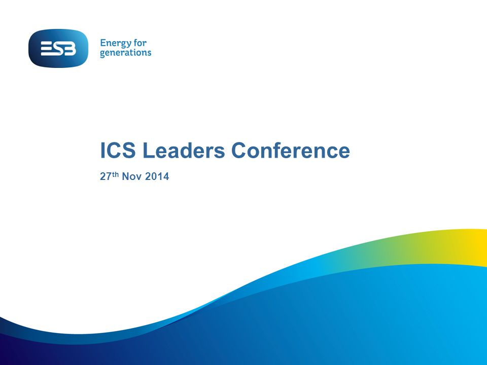 ICS Leaders Conference