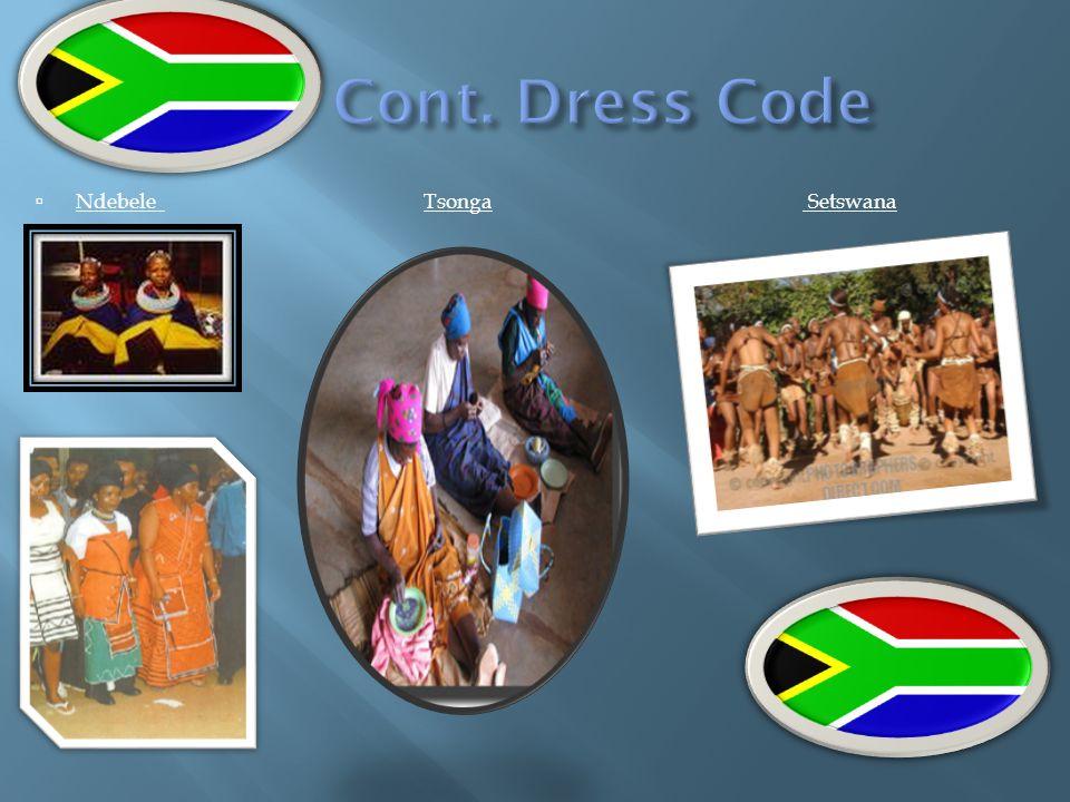 Cont. Dress Code