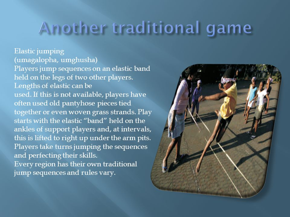 Another traditional game