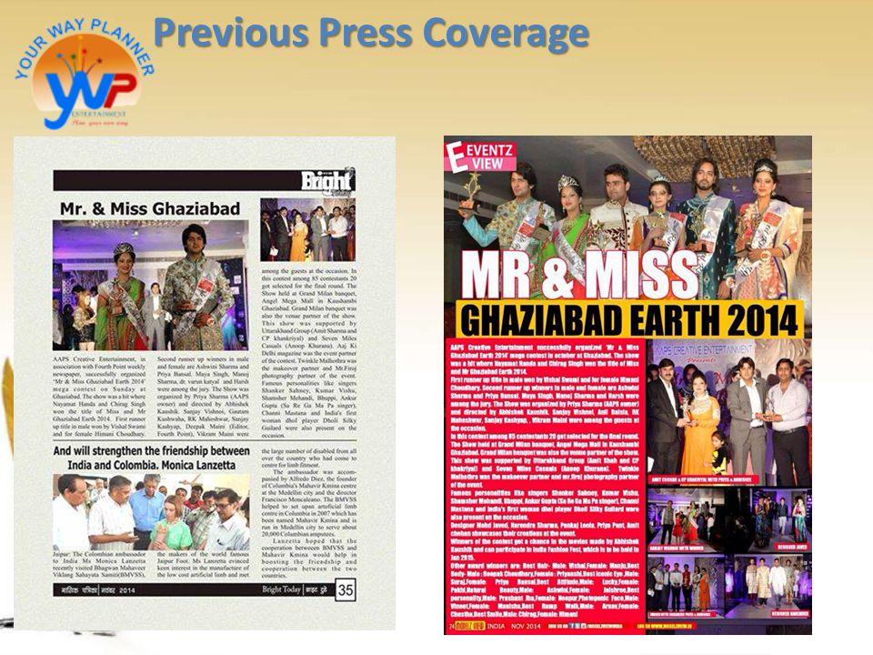 Previous Press Coverage