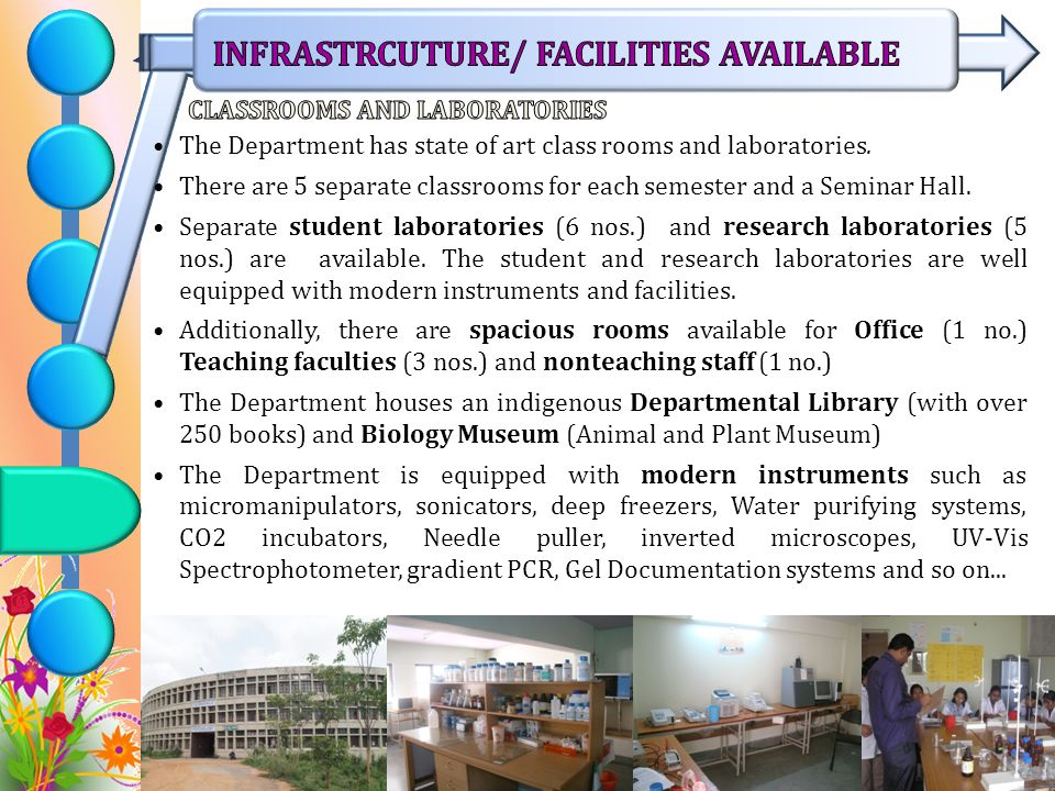 CLASSROOMS AND LABORATORIES