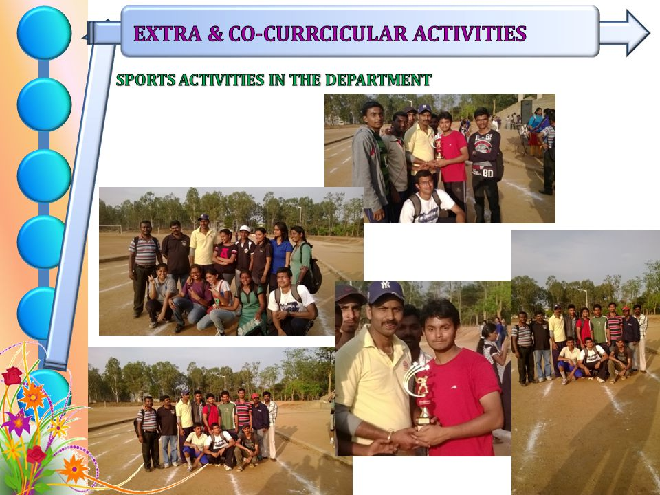 SPORTS ACTIVITIES IN THE DEPARTMENT