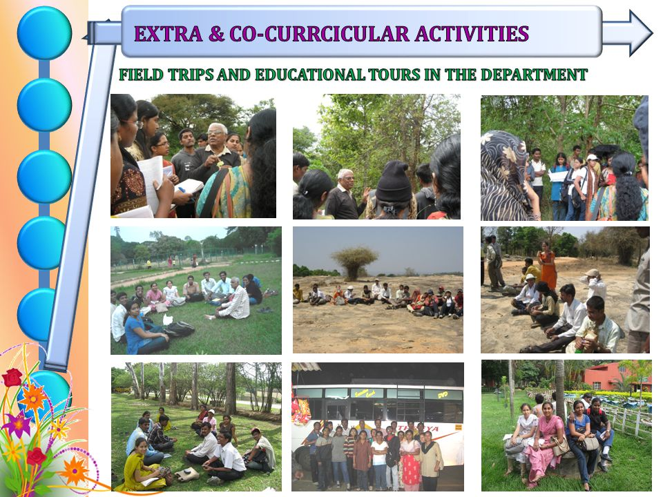 FIELD TRIPS AND EDUCATIONAL TOURS IN THE DEPARTMENT
