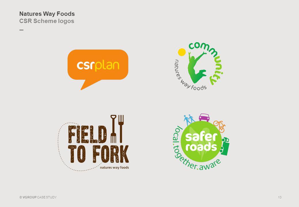 Natures Way Foods CSR Scheme logos