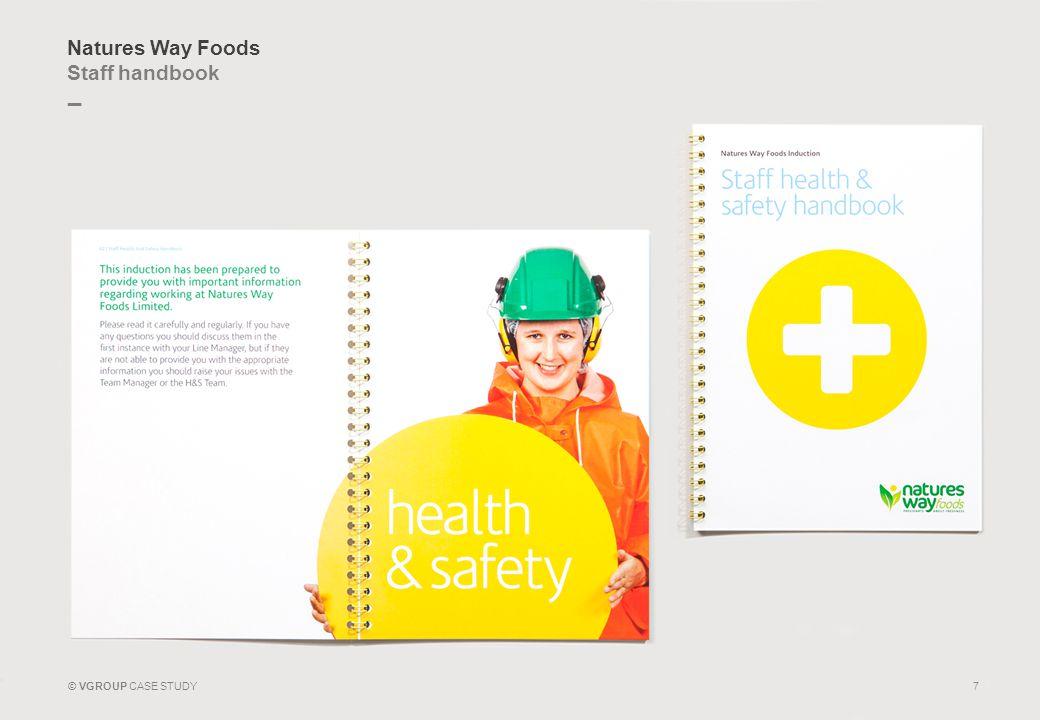 Natures Way Foods Staff handbook