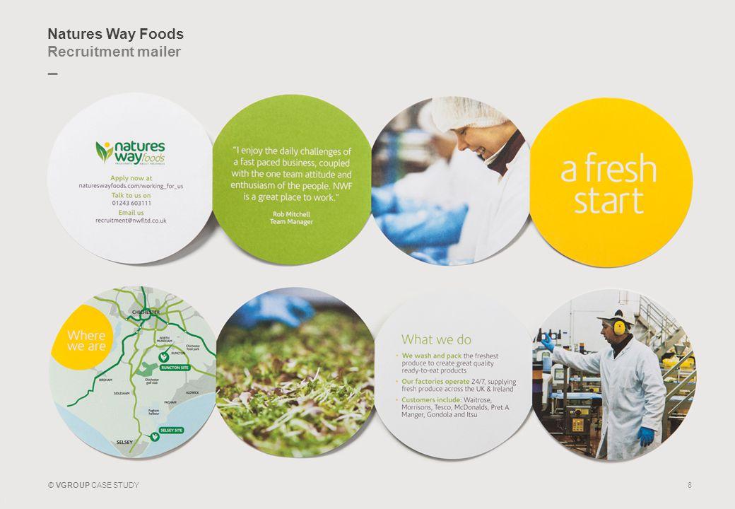Natures Way Foods Recruitment mailer