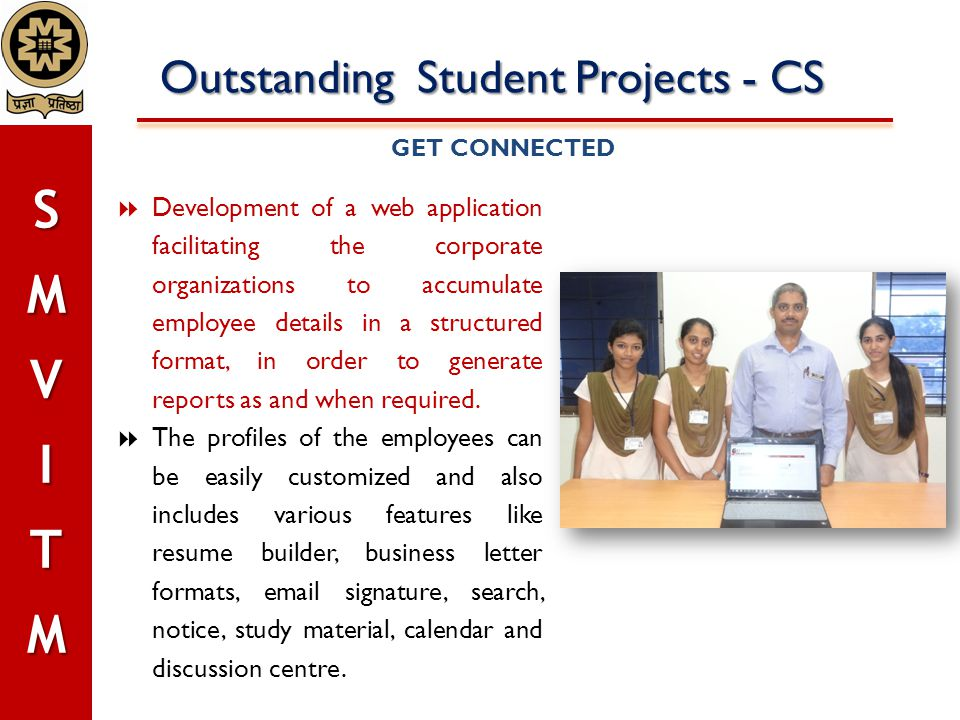 Outstanding Student Projects - CS