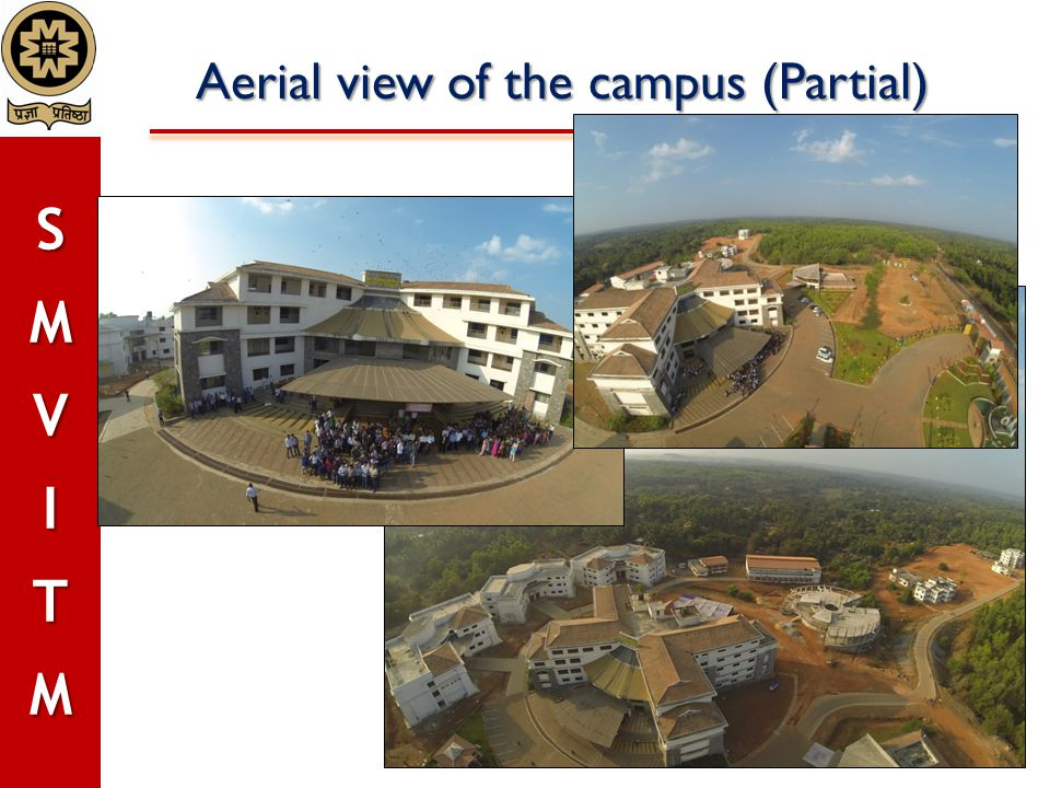 Aerial view of the campus (Partial)