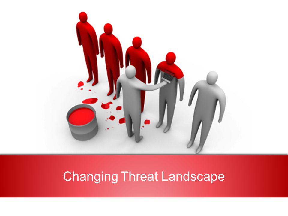 Changing Threat Landscape