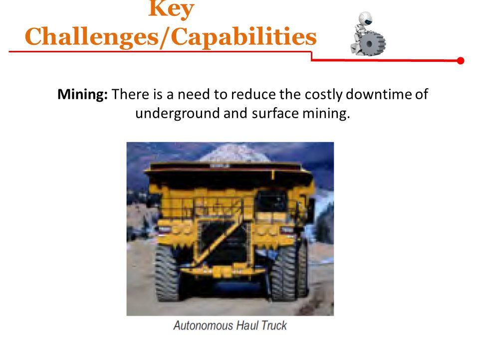 Key Challenges/Capabilities
