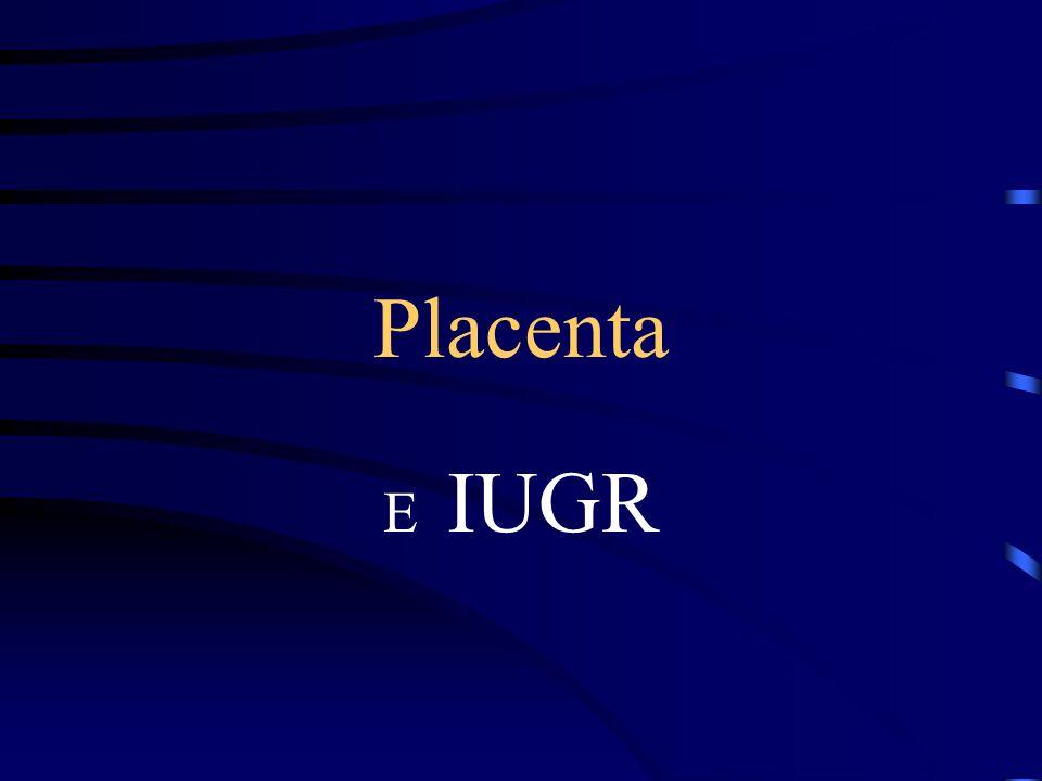 Placenta E IUGR