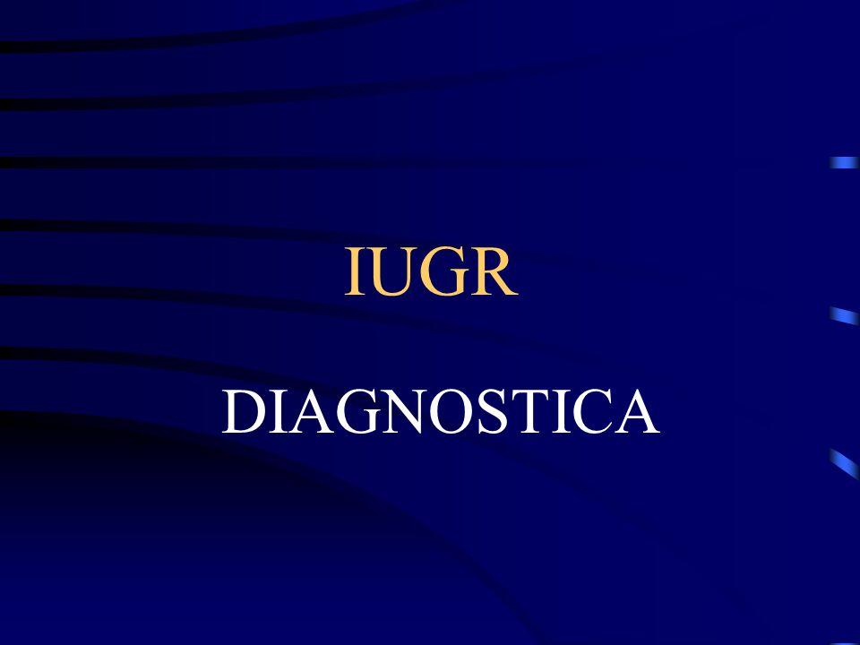 IUGR DIAGNOSTICA