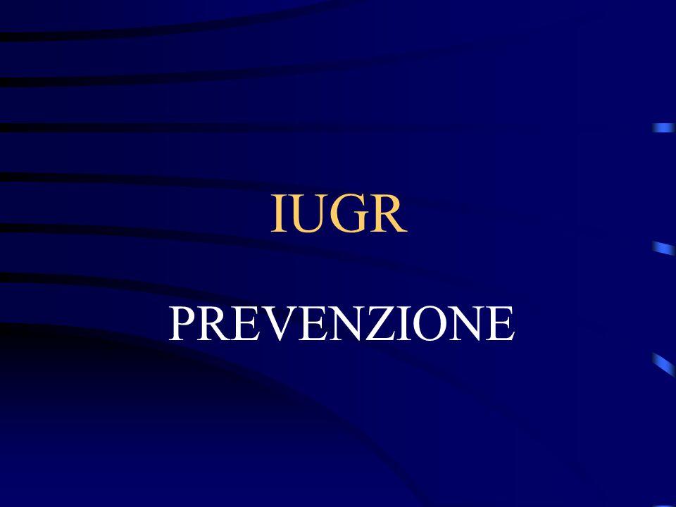 IUGR PREVENZIONE