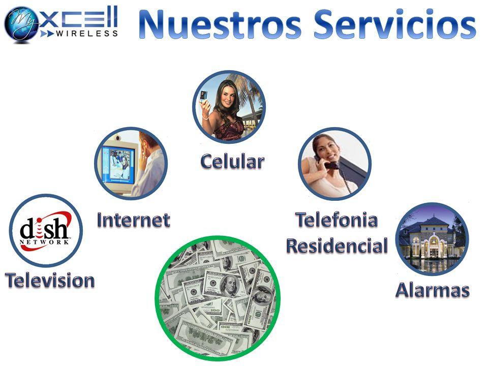 Nuestros Servicios Celular Internet Telefonia Residencial Television