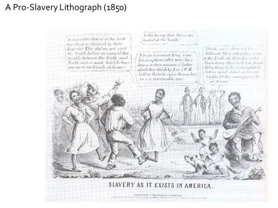 A Pro-Slavery Lithograph (1850)
