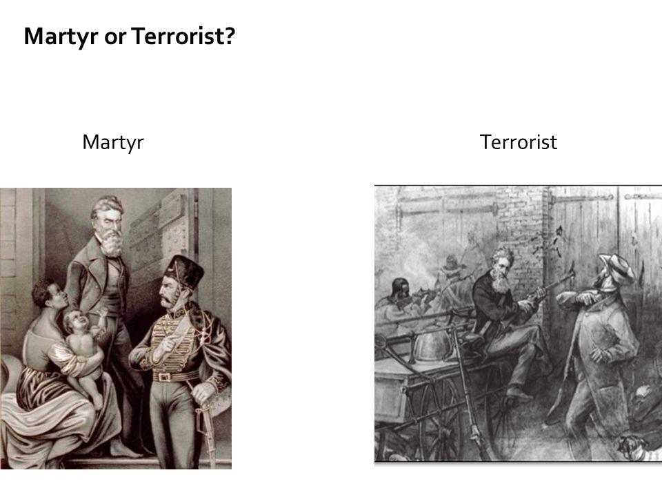 Martyr or Terrorist Martyr Terrorist Discussion: