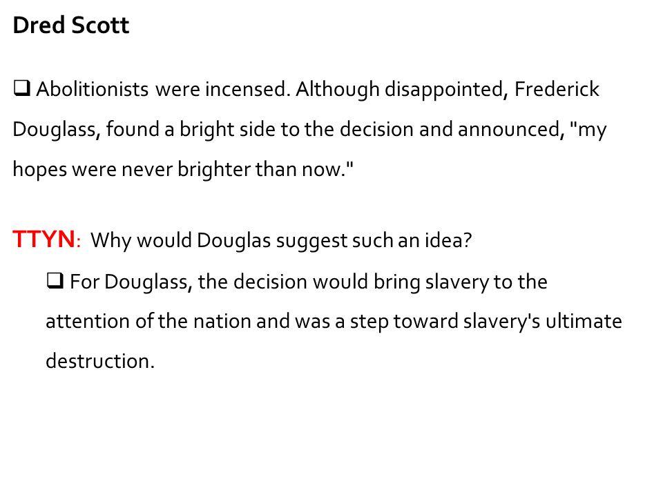 TTYN: Why would Douglas suggest such an idea
