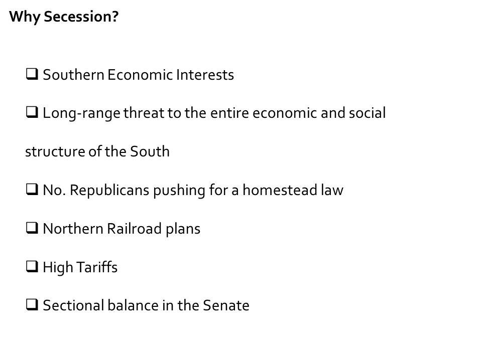 Southern Economic Interests