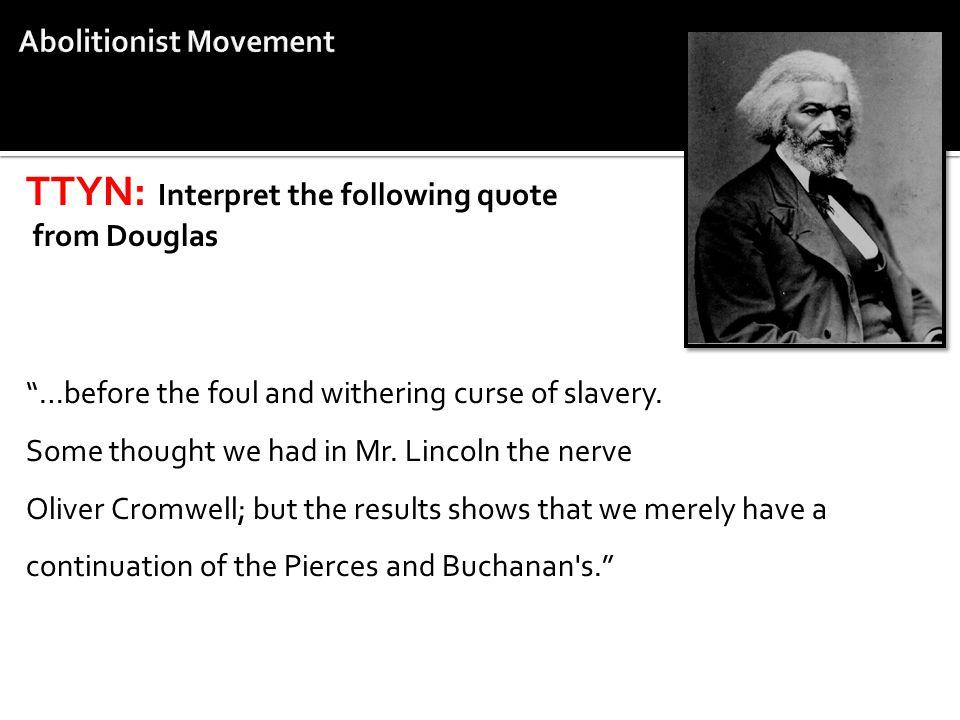Abolitionist Movement