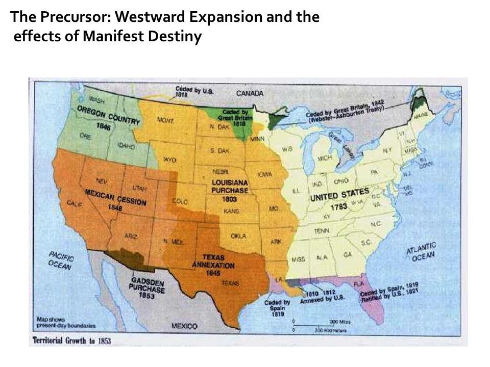 The Precursor: Westward Expansion and the