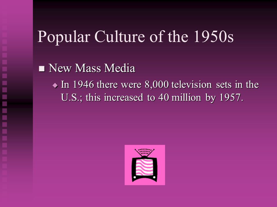 Popular Culture of the 1950s
