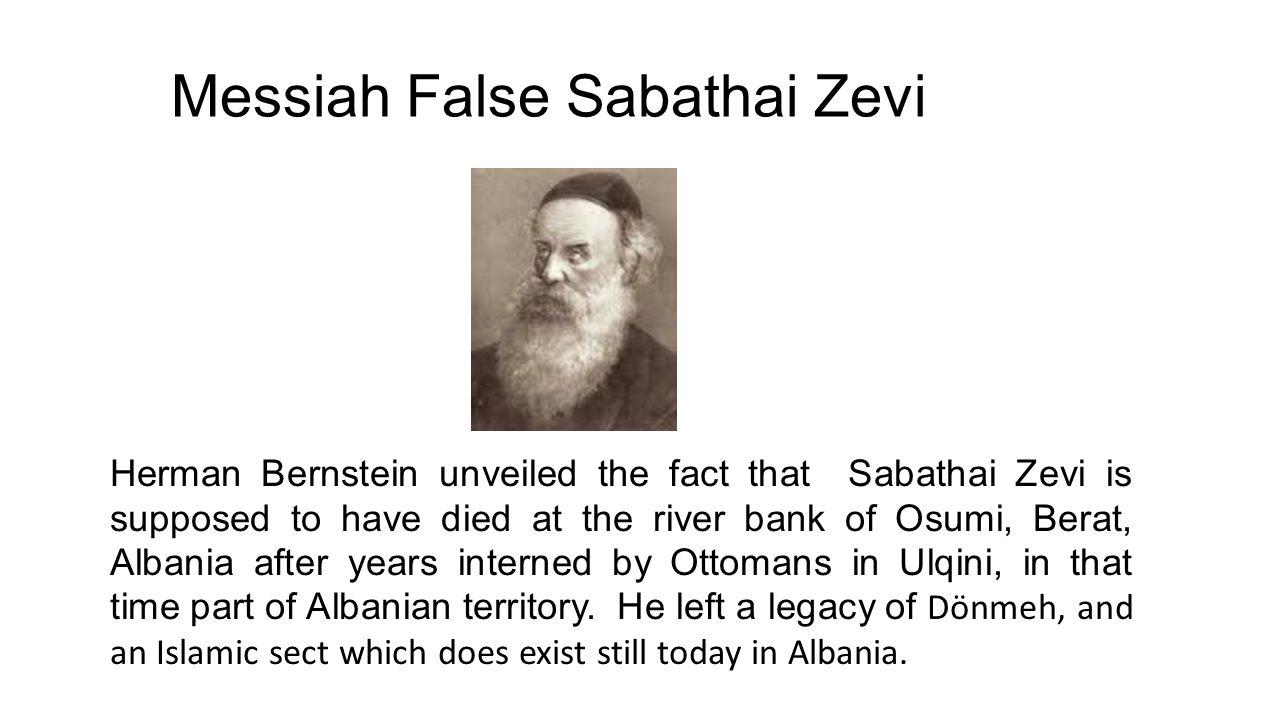 Messiah False Sabathai Zevi