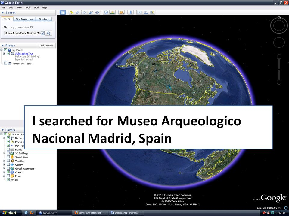 I searched for Museo Arqueologico Nacional Madrid, Spain
