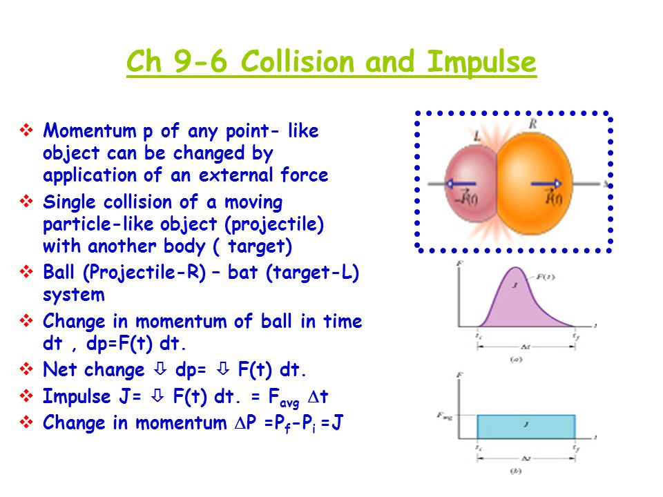 Ch 9-6 Collision and Impulse