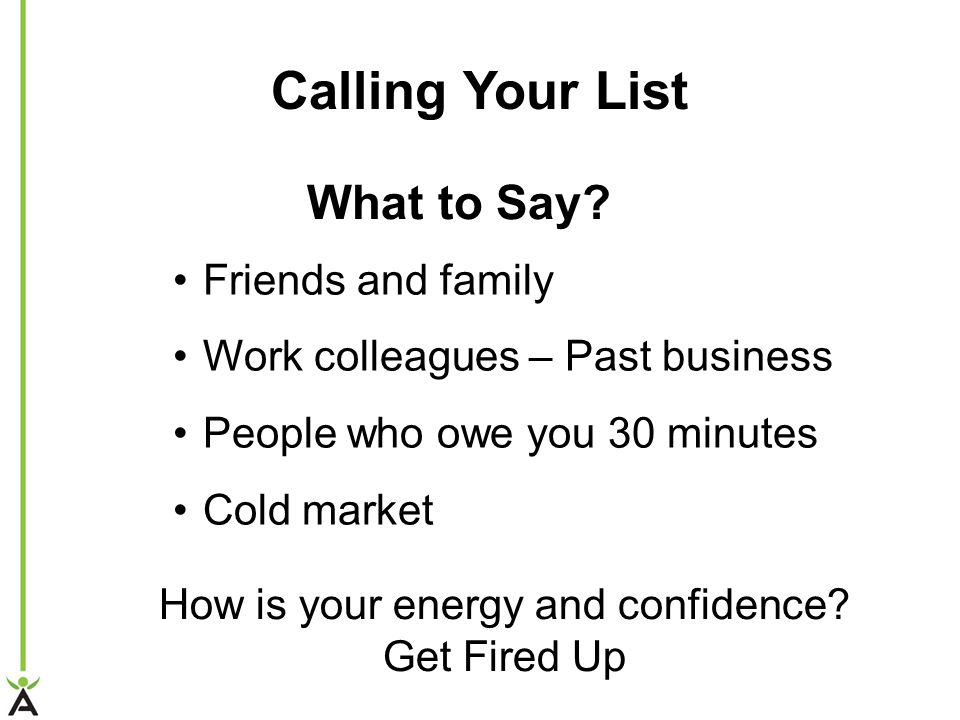 How is your energy and confidence
