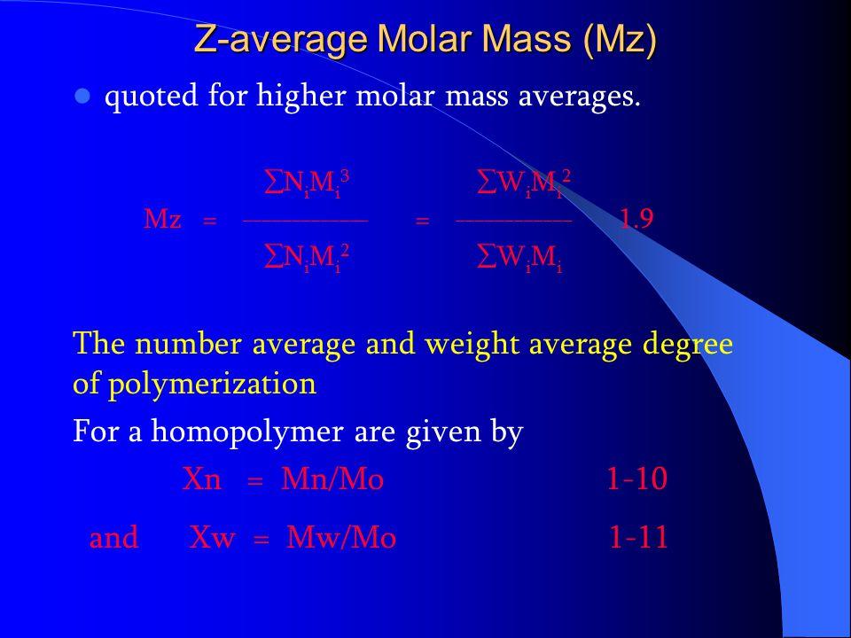 Z-average Molar Mass (Mz)