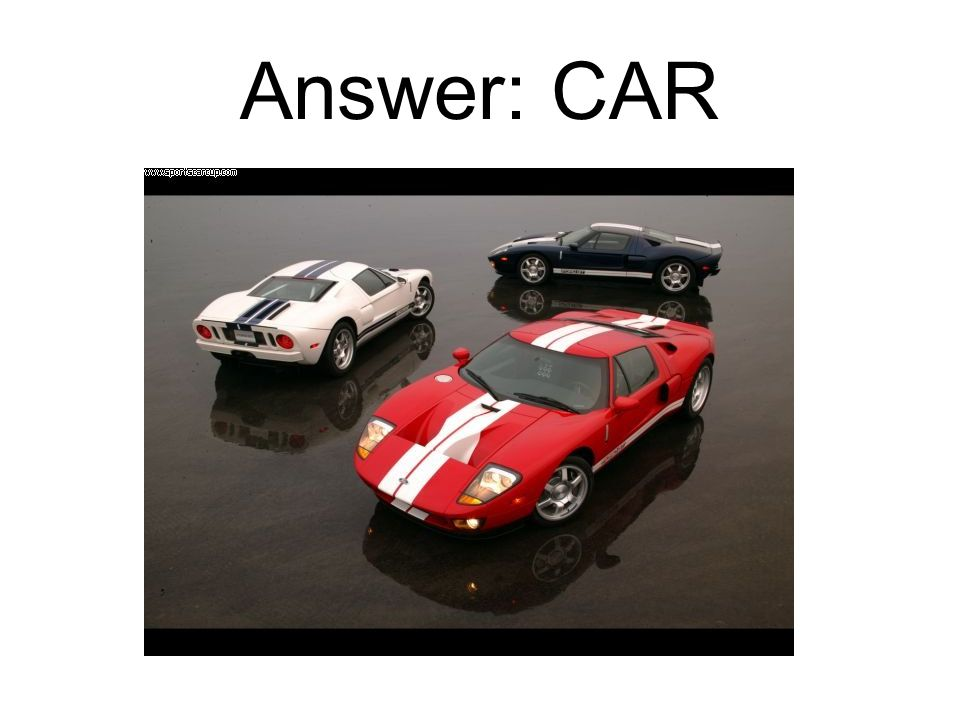 Answer: CAR