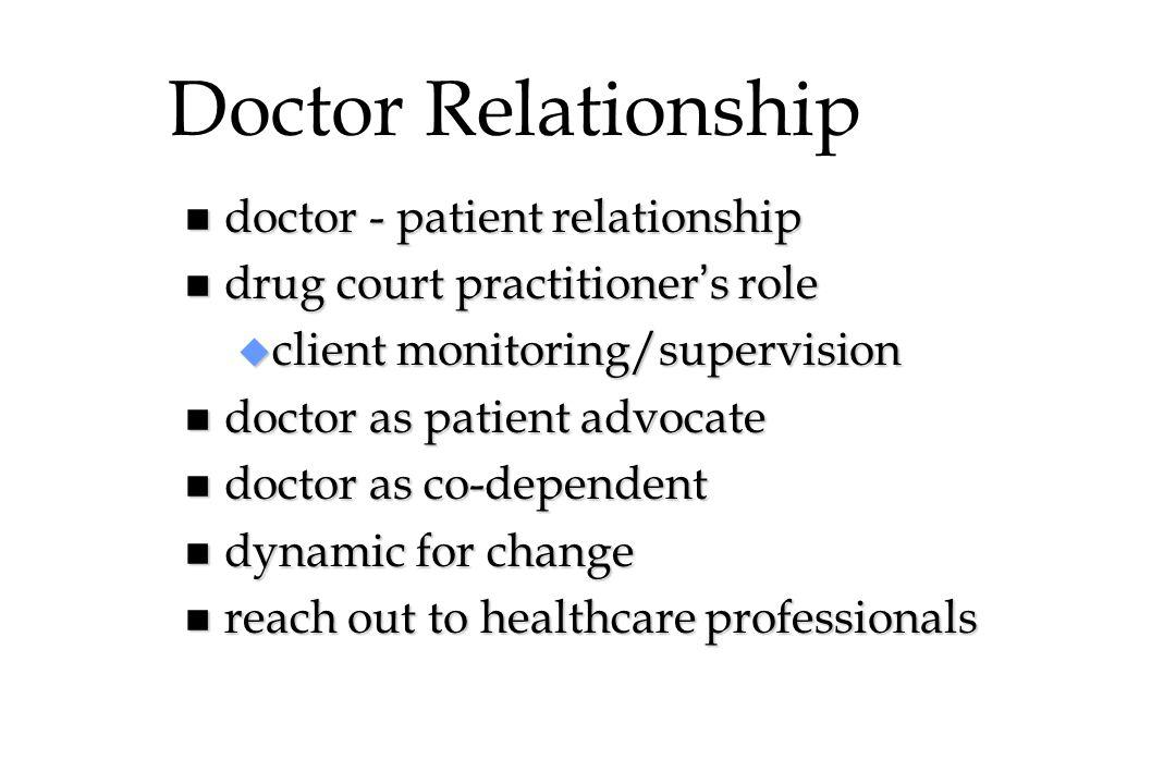 Doctor Relationship doctor - patient relationship