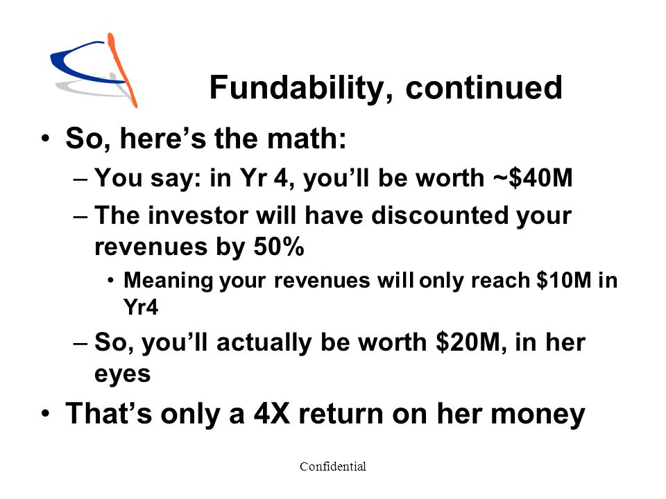 Fundability, continued