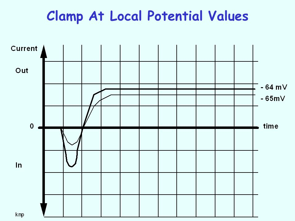 Clamp At Local Potential Values