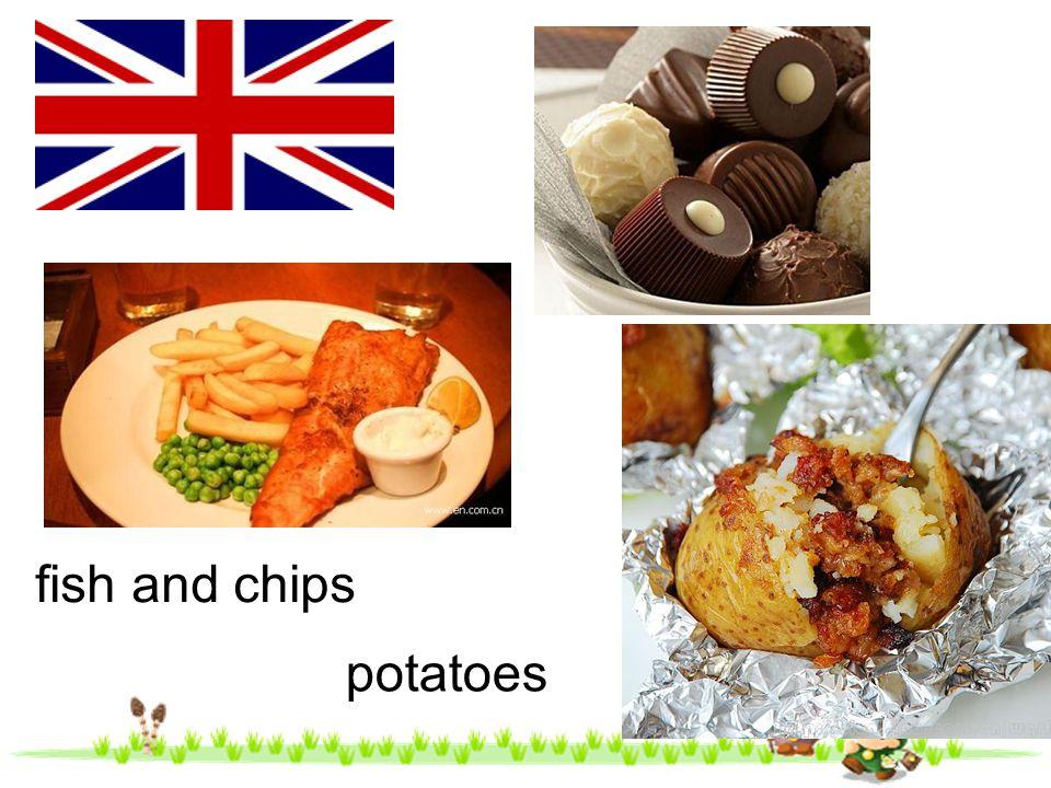 fish and chips potatoes