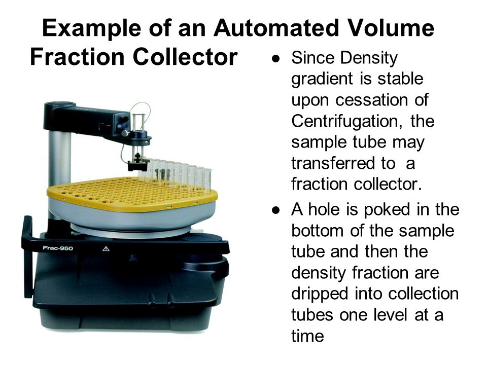 Example of an Automated Volume Fraction Collector