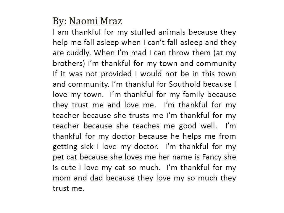 By: Naomi Mraz