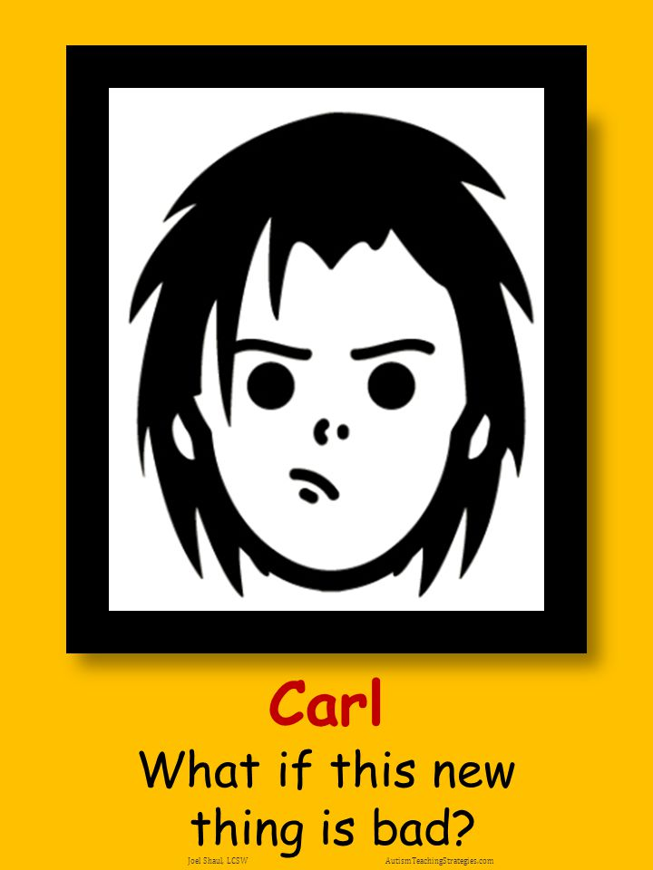 Carl What if this new thing is bad