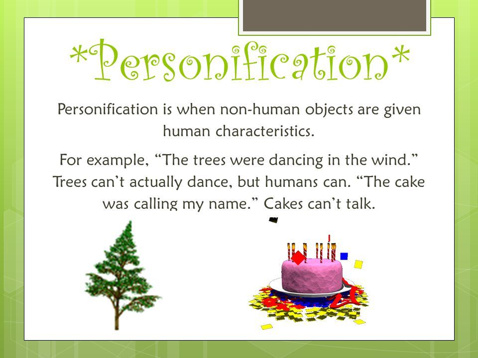 *Personification*