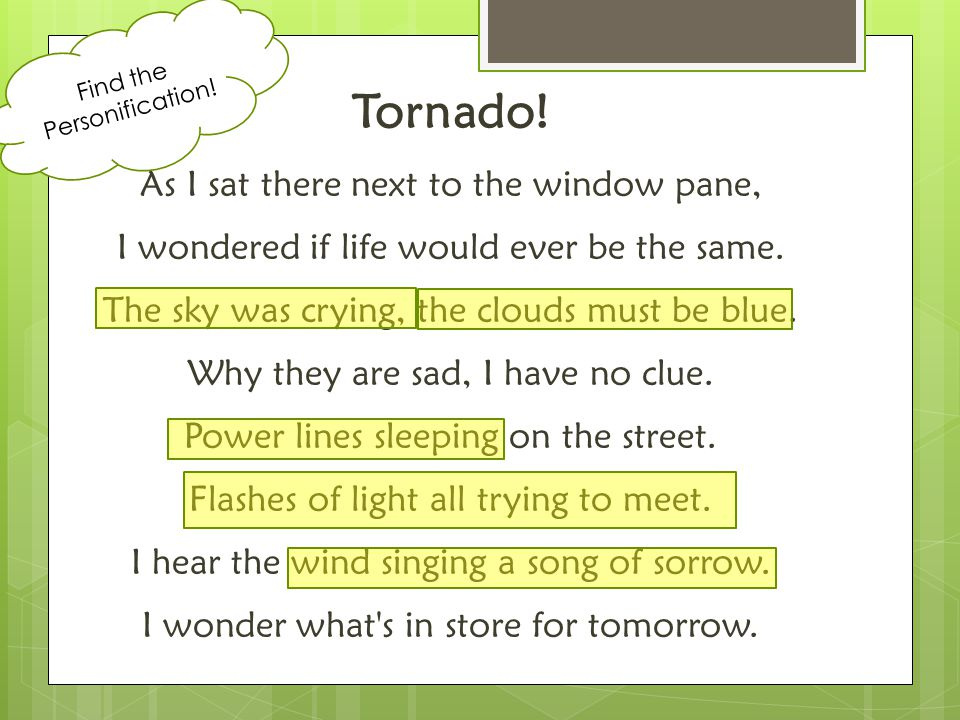 Tornado! As I sat there next to the window pane,