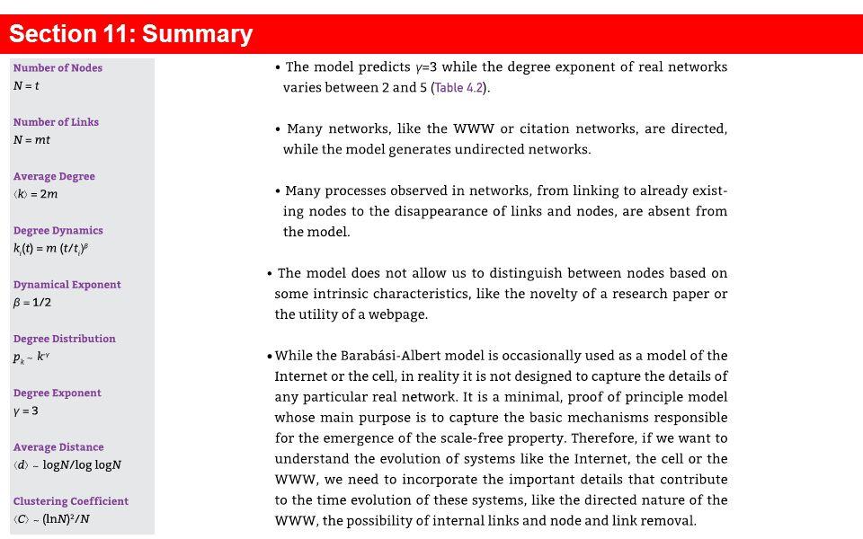 Section 11: Summary