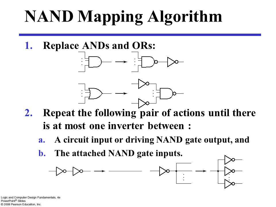 NAND Mapping Algorithm