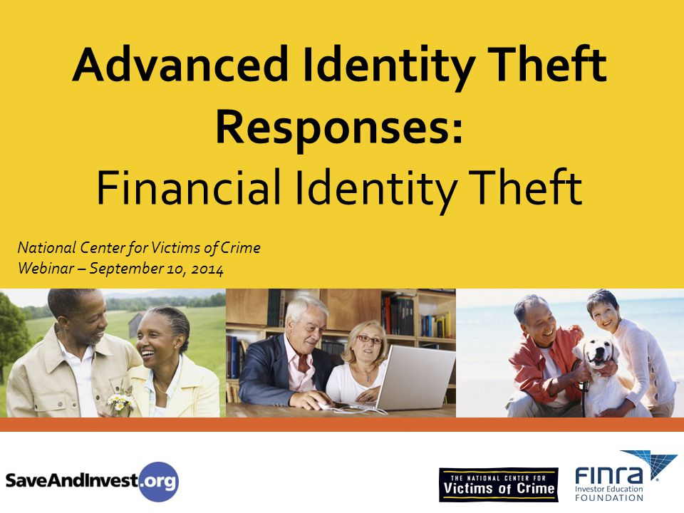 Advanced Identity Theft Responses: Financial Identity Theft