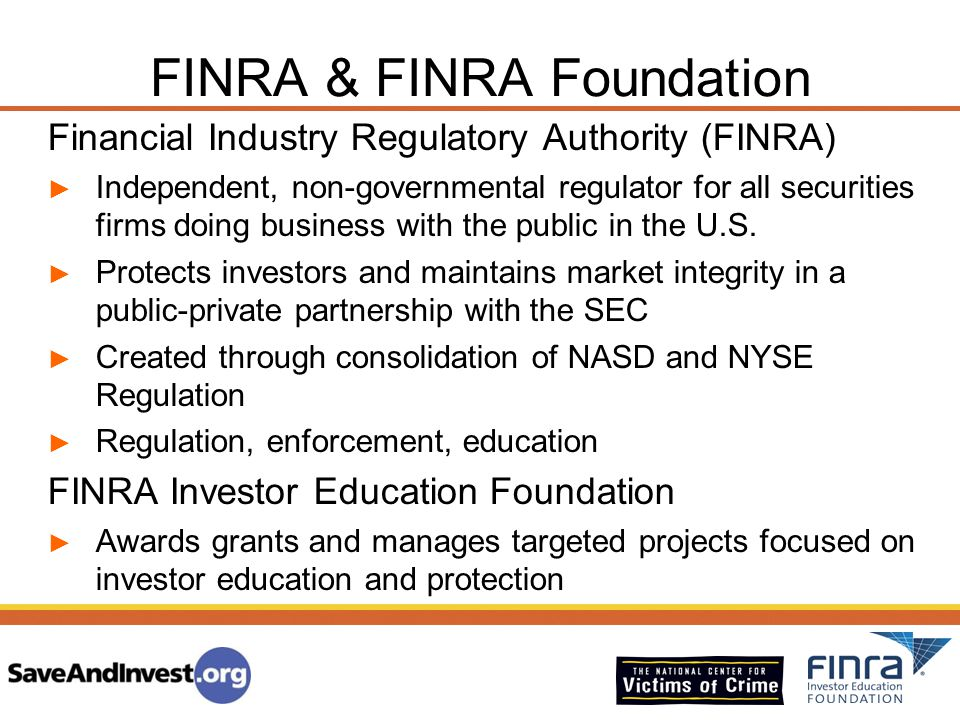 FINRA & FINRA Foundation