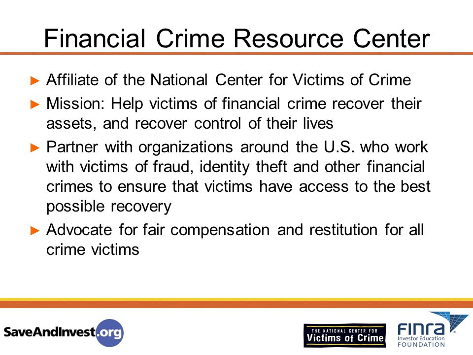 Financial Crime Resource Center