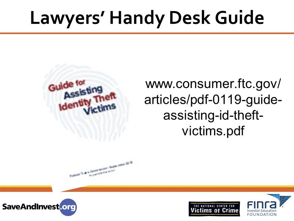 Lawyers' Handy Desk Guide
